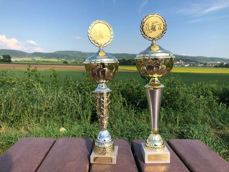 Pokale Hessische Einzelmeisterschaft 2018