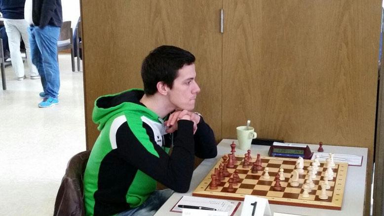 Nikolas Lubbe, zweite Schach-Bundesliga 2016