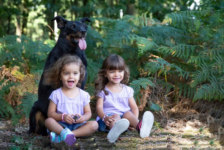 Theresa, Isabella und ihr Bodyguard Allyson