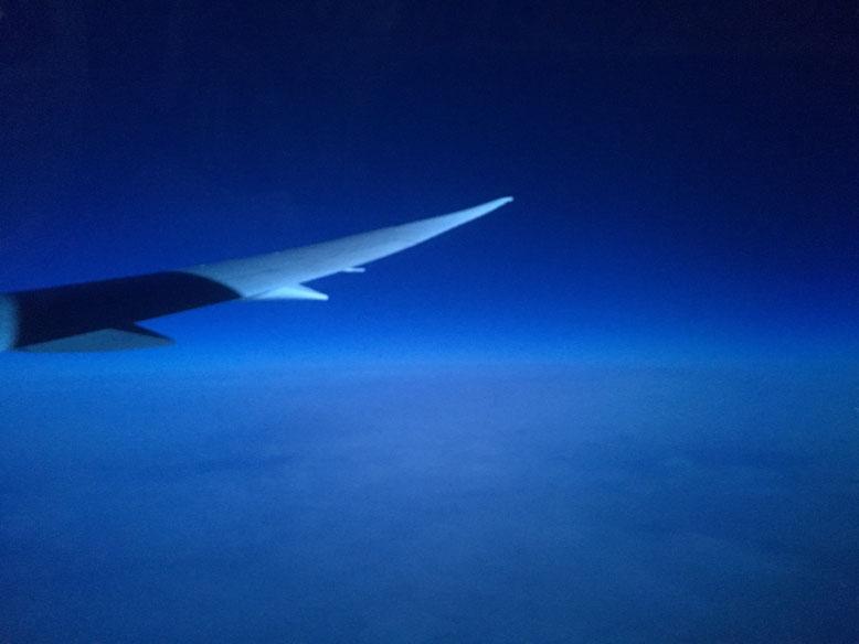 Nachtflug nach Europa