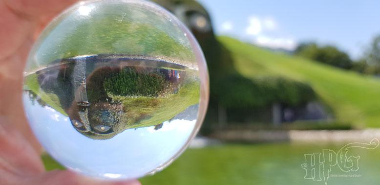 Bei den Swarovski Kristallwelten