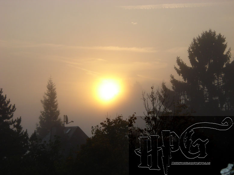 Sonnenaufgang in Idstein - Eschenhahn