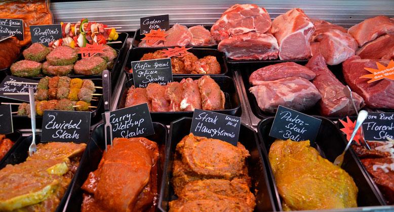 Frische Fleischprodukte sind unser Aushängeschild