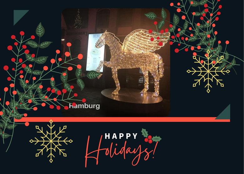 思い出のクリスマスカード