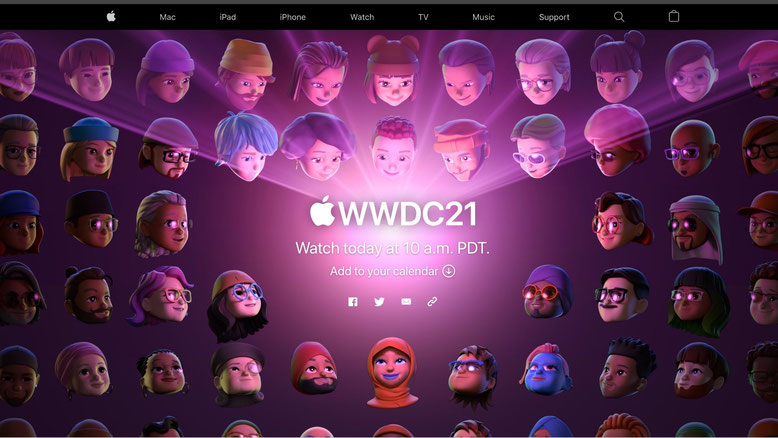 AppleEvent WWDC21