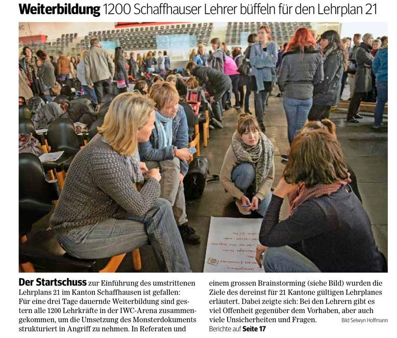 Quelle: Schaffhauser Nachrichten, 3. Mai 2016