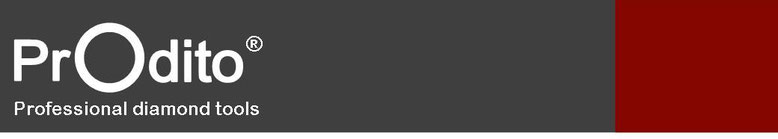 prodito kernboor of diamantboor voor nat of droog boren met boorstaander of uit de hand alle prodito kernboren of diamantboren hebben een laser gelast segment en zijn voorzien van diagrid diamant bezetting