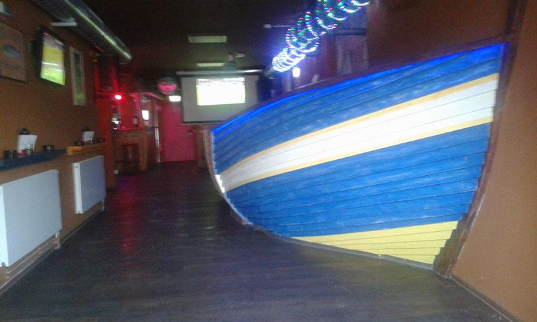 Eingangsbereich der SHARK BEACH BAR - Reeperbahn 40 in Hamburg St. Pauli