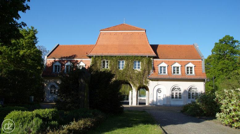 Haupteingang zum Friedhof Baumschulenweg | Foto: © Detlef Zabel