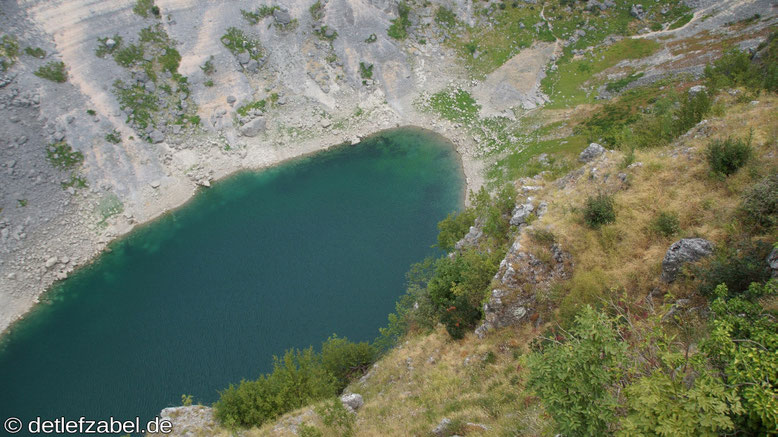Blauer See Modro Jezero