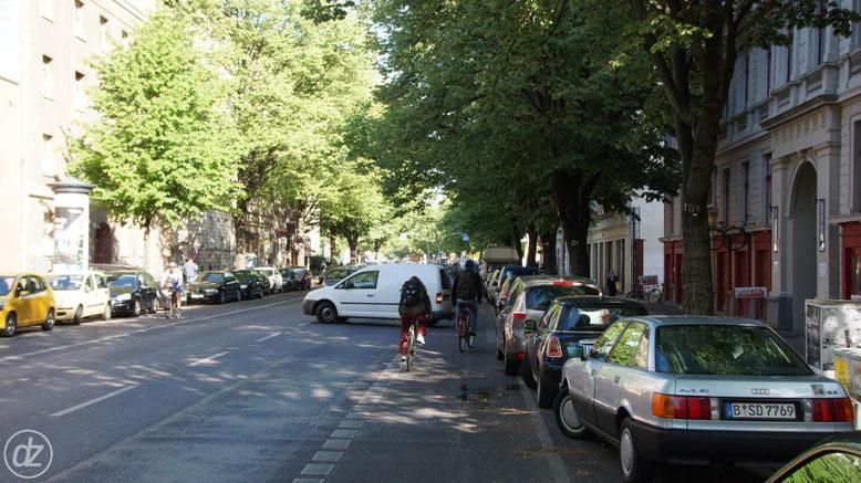 Aufpassen auf der Köpenicker Straße! | Foto: © Detlef Zabel