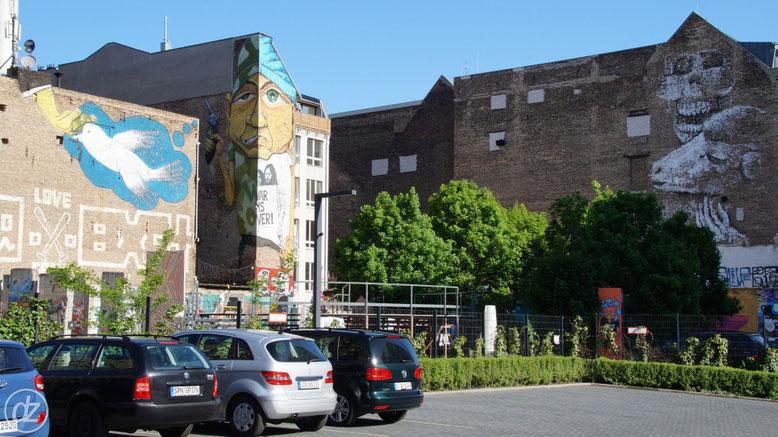 Hier stehen auch noch viele Mauerreste rum | Foto: © Detlef Zabel