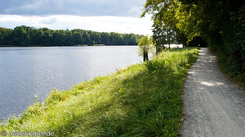 Lehnitzsee Fernradweg Berlin - Kopenhagen