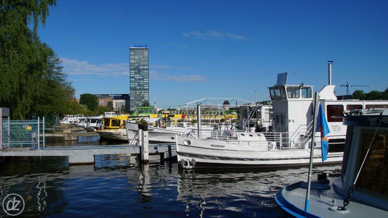 Der Hafen der Weißen Flotte | Foto: © Detlef Zabel