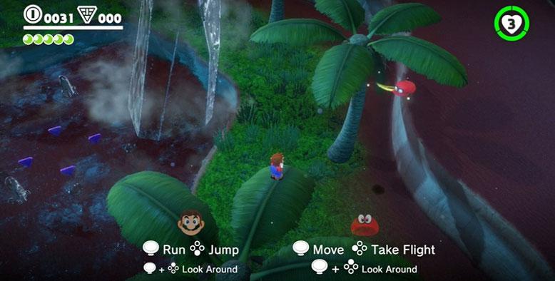 Super Mario Odyssey enthält einen Koop-Modus, den Nintendo auf der E3 2017 bestätigt hat. Bilderquelle: Nintendo