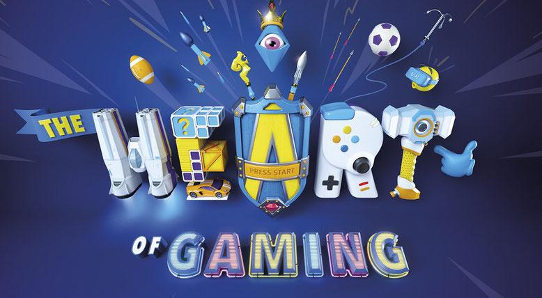"""Unter dem Motto """"The Heart of Gaming"""" findet in Köln die gamescom 2017 statt. Bilderquelle: kölnmesse"""