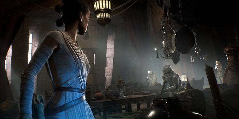 Im Rahmen der D23 Expo wurde ein neues Entwicklervideo zu Star Wars Battlefront 2 veröffentlicht. Bilderquelle: EA