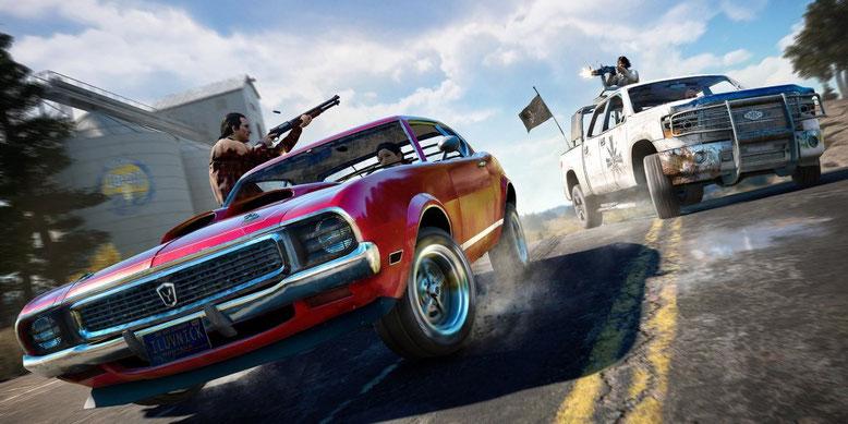Neues E3-Gameplay-Walkthrough zu Far Cry 5 stellt euch einige Widerstandskämpfer vor. Bilderquelle: Ubisoft