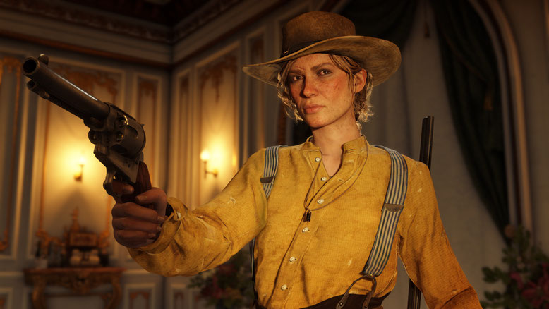 Red Dead Redemption 2 PlayStation 4 Screenshots
