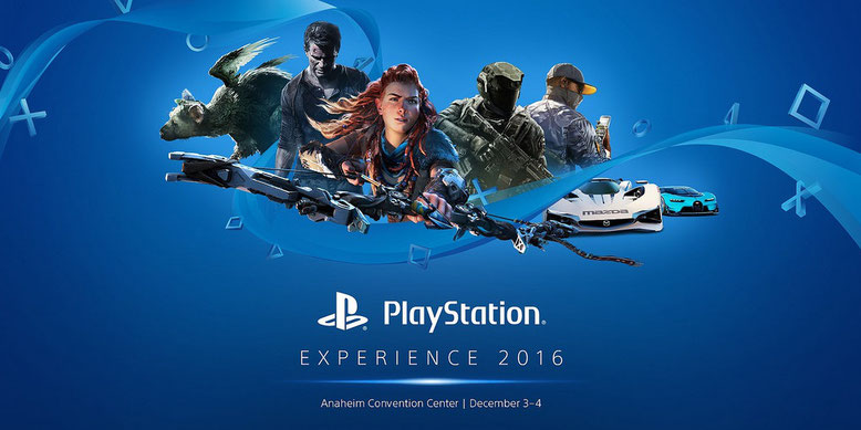 Media Showcase der PlayStation Experience 2016 im Livestream. Bilderquelle: Sony