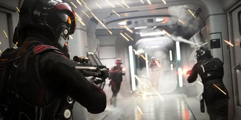 Morgen startet die Beta zu Star Wars Battlefront 2, zu der ein neuer Trailer veröffentlicht wurde. Bilderquelle: Electronic Arts