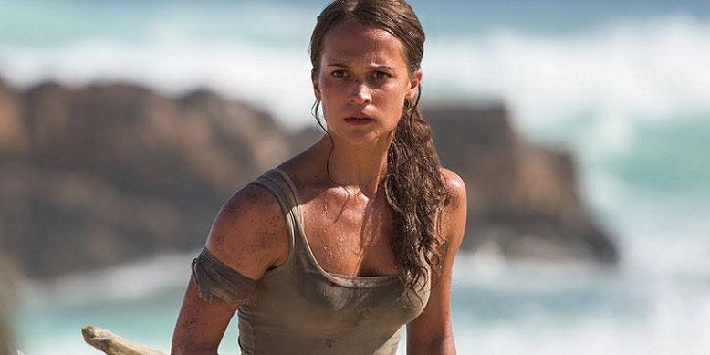 Alicia Vikander spielt in dem neuen Tomb-Raider-Film die aus der gleichnamigen Videospielreihe bekannte Archäologin Lara Croft. Bilderquelle: Warner Bros. Pictures