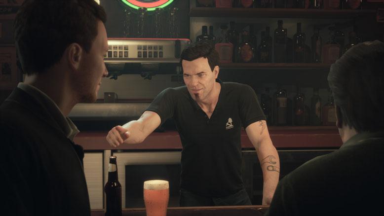 Die Macher von Life is Strange, Dontnod, arbeiten derzeit an Twin Mirror, einem neuen Psycho-Thriller, der 2019 für PS4, Xbox One und PC erscheint. Bilderquelle: Bandai Namco