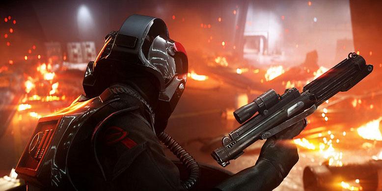 Die Singleplayer-Kampagne von Star Wars Battlefront 2 bietet nur wenige Stunden Spielspaß. Bilderquelle: Electronic Arts