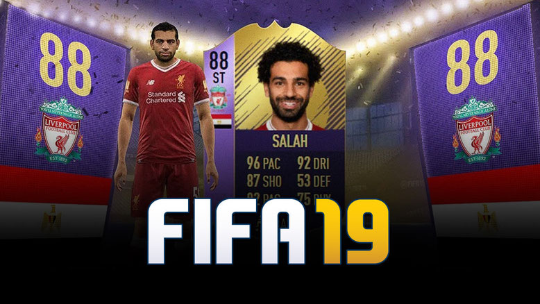 FIFA 19 Mohamed Salah Cover Star