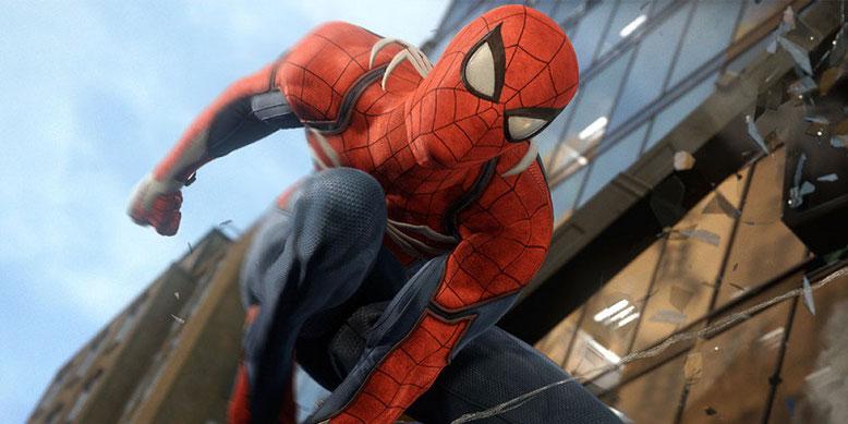 Spiderman von dem Entwicklerstudio Insomniac Games ist einer der Top PS4 Exklusiv-Spiele 2018. Bilderquelle: Sony