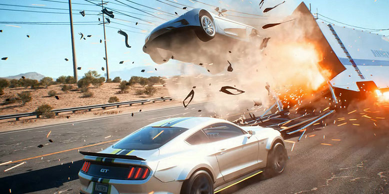 Need for Speed Payback im ersten Gameplay-Trailer aus der Kampagne präsentiert. Bilderquelle: Electronic Arts