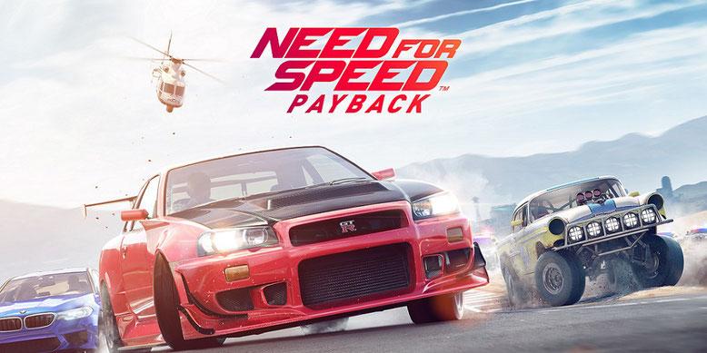 Need for Speed Payback heißt der neue Ablger der Rennspielreihe von EA und Ghost Games. Bilderquelle: Electronic Arts