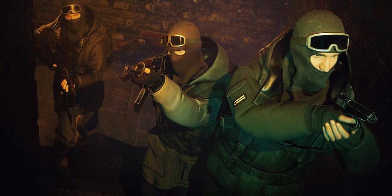 Der Multiplayer-Horror-Shooter Dead Dozen zeigt sich im ersten Gameplay-Trailer der Pre-Alpha-Version samt Koop-Modus. Bilderquelle: Fntastic