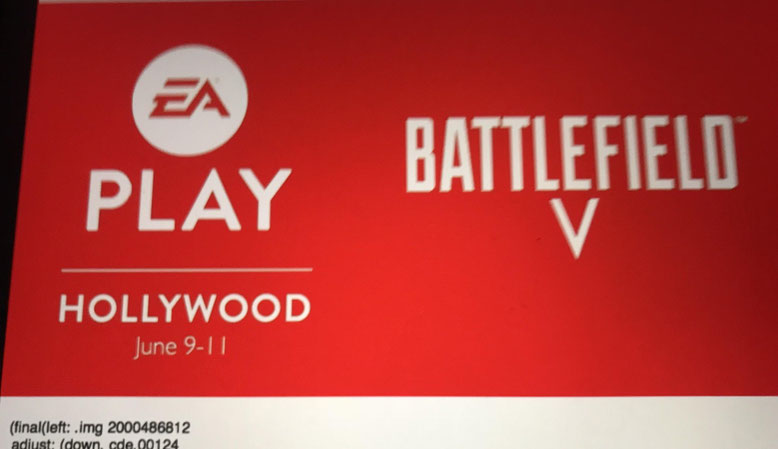 Battlefield 5 Logo EA Play