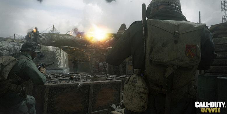 Die Gerüchte um Call of Duty WW2 für Nintendo Switch gehören laut Activision der Vergangenheit an. Bilderquelle: Activision