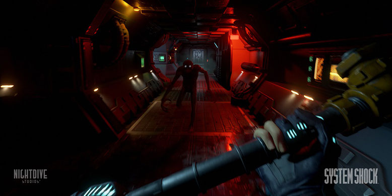 Das System Shock Remake wird ab sofort von der Unreal Engine 4 angetrieben. Bilderquelle: Nightdive Studios