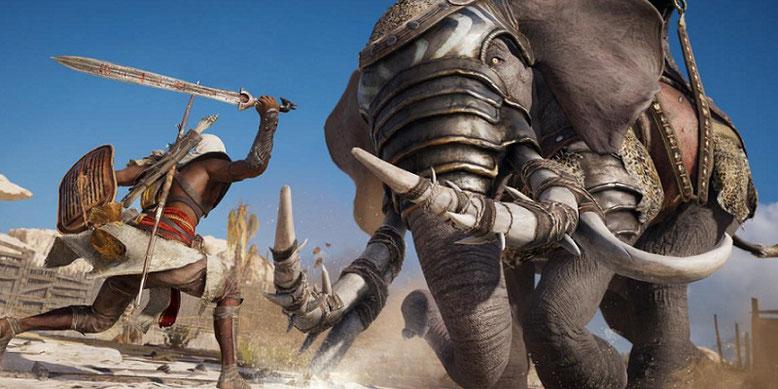 Assassin's Creed Origins zeigt sich innerhalb neuer 4K-Spielszenen auf der Xbox One X im Video. Bilderquelle: Ubisoft