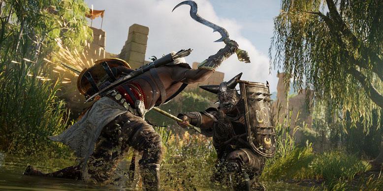 Ubisoft fördert mit speziellen Beutekisten in Assassin's Creed Origins den Sammeltrieb der Spieler. Bilderquelle: Ubisoft