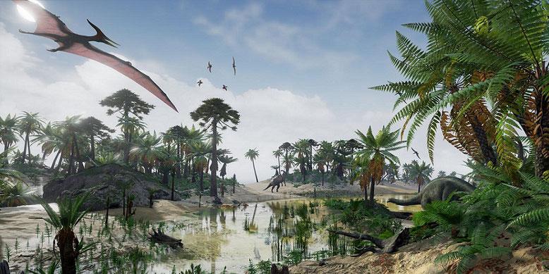 Das Dino-Game Claw Hunter baut auf der Unreal Engine 4 von Epic Games auf. Bilderquelle: Unidreamers