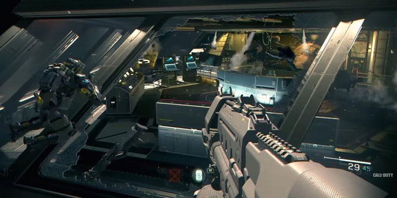 CoD Infinite Warfare Multiplayer Gameplay Livestream für kommenden Freitag angekündigt. Bilderquelle: Activision