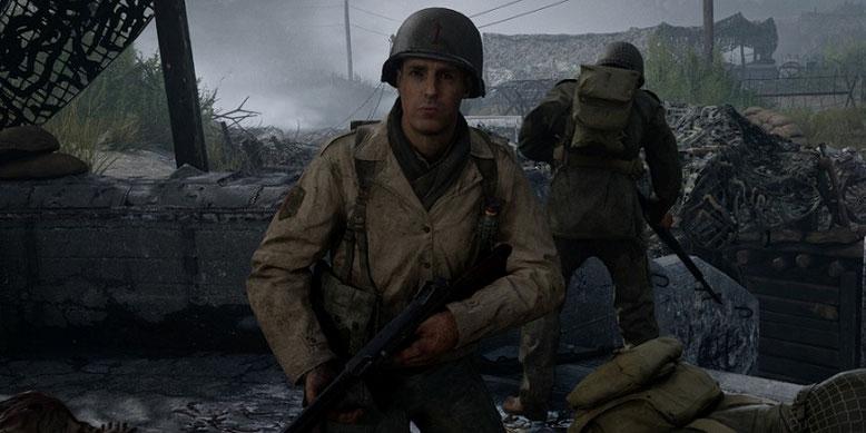 The Crazy Hunters wagen sich erstmals auf das virtuelle Schlachtfeld des Zweiten Weltkriegs in Call of Duty WW2. Bilderquelle: Activision