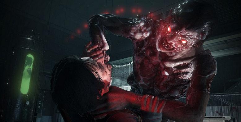 The Evil Within 2 zeigt sich von seiner blutigen Seite im neuen Gameplay-Trailer. Bilderquelle: Bethesda Softworks