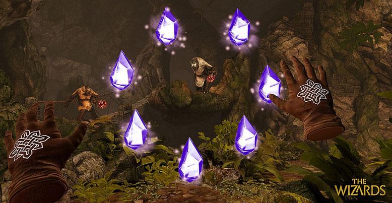 Das VR-Spiel The Wizards baut auf der Unreal Engine 4 aus dem Hause Epic Games auf. Bilderquelle: Carbon Studio