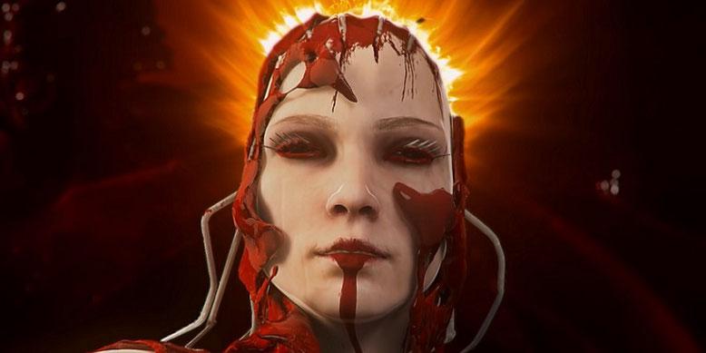 The Red Goddess stellt sich im neuen Trailer zu dem Survival-Horror Agony vor. Der 2018 für PS4, Xbox One und PC erscheinende Titel baut auf der Unreal Engine 4 aus dem Hause Epic Games auf. Bilderquelle: Madmind Studio