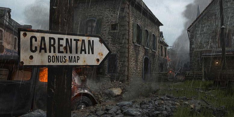 Die Bonus Map Carentan wird im Season Pass von Call of Duty WW2 enthalten sein. Bilderquelle: Activision