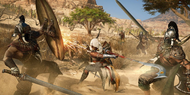 Zu Assassin's Creed Origins ist ein neues Gameplay-Walkthrough-Video erschienen, das sich einer Nebenmission widmet.