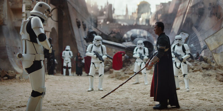 Neuer Trailer zu Rogue One: A Star Wars Story erschienen. Bilderquelle: Disney/Lucasfilm