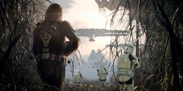 Star Wars Battlefront 2 ist eines der beliebtesten Spiele der E3 2017 auf YouTube. Bilderquelle: Electronic Arts