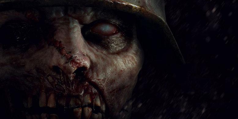 In Call of Duty WW2 wird es erneut einen Zombie-Modus geben, der auf der Comic-Con vorgestellt wird. Bild: Activision