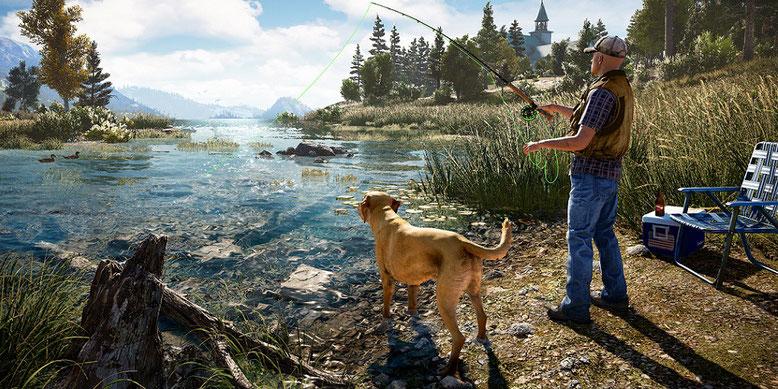 Far Cry 5 im ersten Entwicklervideo, in dem sich Dan Hay von Ubisoft Montreal Hope County widmet. Bilderqulle: Ubsisoft
